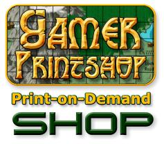 RPG Map Print-on-Demand Shop
