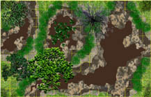 Swamp - Endless Terrain Battlemap sample